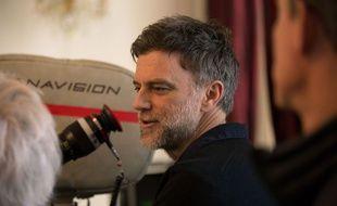 Paul Thomas Anderson sur le tournage de Phantom Thread de Paul Thomas