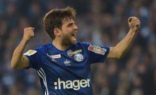 Prcic et Strasbourg remporte la Coupe de la Ligue 2019.