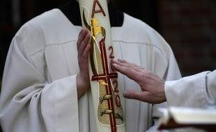 L'abbé Francis Michel avait pris l'habitude d'aller bénir les baraques de
