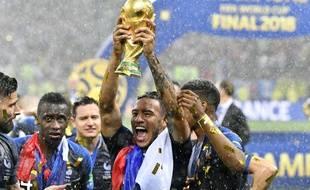 Corentin Tolisso a participé à cinq rencontres de cette Coupe du monde, dont la finale contre la Croatie dimanche.