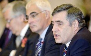 Le Premier ministre britannique, Gordon Brown, au sommet du G20, samedi.