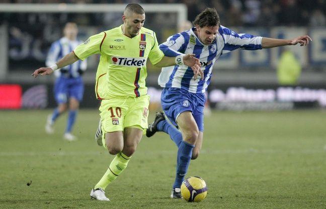 Ici opposé avec Grenoble à l'OL de Karim Benzema en janvier 2009, Sandy Paillot a disputé plus de 70 matchs professionnels de 2008 à 2011.