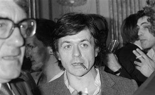 Patrice Chéreau, le 28 avril 1983, au ministère de la Culture.