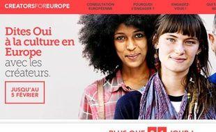 """Le 29 janvier, l'association européenne des auteurs-compositeurs (ECSA) a lancé une pétition en ligne """"contre le démantèlement des droits des créateurs"""" en Europe."""