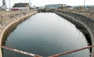 Une des deux formes de radoubs des Bassins à flots à Bordeaux où pourraient être réparés des yachts, d'ici à l'automne 2013