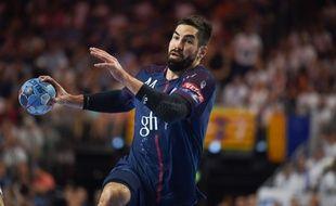 Nikola Karabatic, champion de France de handball pour la 12e fois.