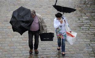 Les fortes pluies, doublées d'un coup de vent jeudi dans la Loire, ont entraîné l'évacuation d'un lotissement et celle d'un camping, et la coupure partielle de la voie SNCF Lyon-Roanne, a-t-on appris de la préfecture, des pompiers et de la SNCF.