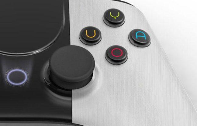 La manette prévue pour la console de jeu Ouya.
