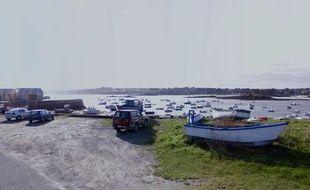 Le port de Koréjou, à Plouguerneau, dans le Finistère.