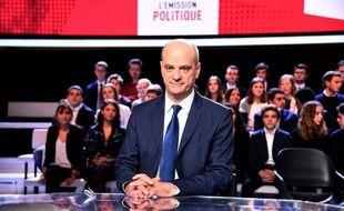 Jean-Michel Blanquer lors de «L'Emission politique», le 15 février sur France 2.