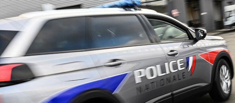 Une voiture de police. (illustration).