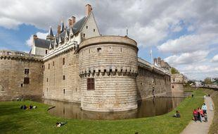 NANTES, le 22/04/2013 Le chateau des ducs de Bretagne