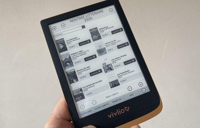 La liseuse Touch HD Plus de Vivlio lancée à 150 euros.