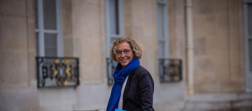 Le 10 decembre 2018 a Paris, Muriel Penicaud, ministre du travail arrive à l'Elysée.