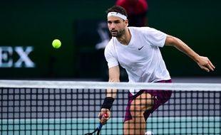 Grigor Dimitrov était au Masters 1000 de Paris Bercy.