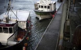 Des bateaux de pêche français (illustration).