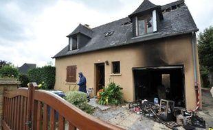 Le paville de l'homme de 58 ans qui a semé la terreur à Mélesse, le 31 juillet, en Ille-et-Vilaine.