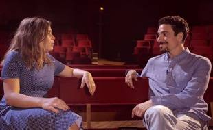 Yacine Belhousse interviewe Blanche Gardin pour «Voulez-vous rire avec moi ce soir?», son documentaire sur le stand-up