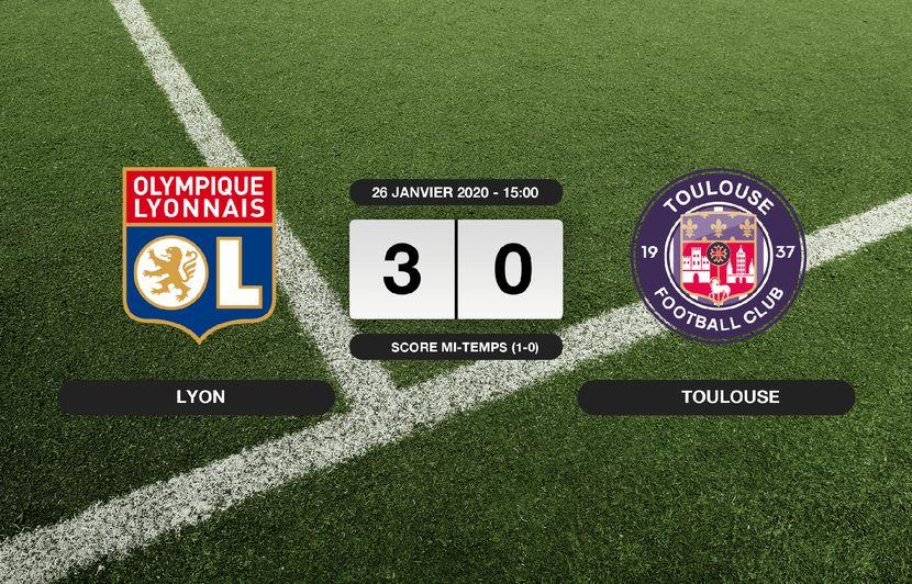 OL - TFC: L'OL s'impose à domicile 3-0 contre le TFC