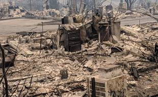 Incendies Californie Paradise