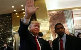 Le candidat à la Maison Blanche Donald Trump à New York, le 22 juillet 2015
