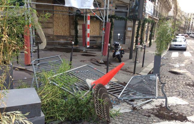 Des restes de la mobilisation à Paris.