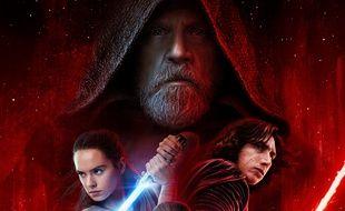 L'affiche de «Star Wars: Les Derniers Jedi».
