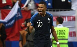 Kylian Mbappé a été élu meilleur jeune joueur de la Coupe du monde 2018.