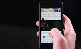 Un exemple de publicité vidéo sur Facebook.