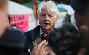 Stanley Johnson, le père de Boris Johnson à Londres, le 9 octobre 2019.