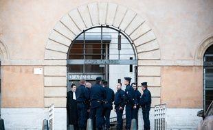 La cour d'assises d'Aix-en-Provence.