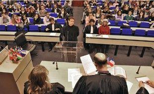 Les étudiants dans les procédures «made in France»