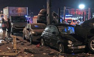 L'accident a impliqué quinze véhicules