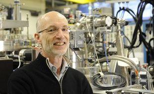 Stuart Parkin, lauréat du Prix Millénium de technologie 2014.