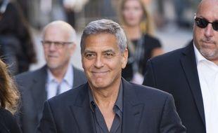 L'acteur George Clooney à l'avant-première de Suburbicon au TIFF