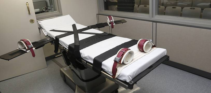 Une chambre d'exécution dans l'Oklahoma (illustration).