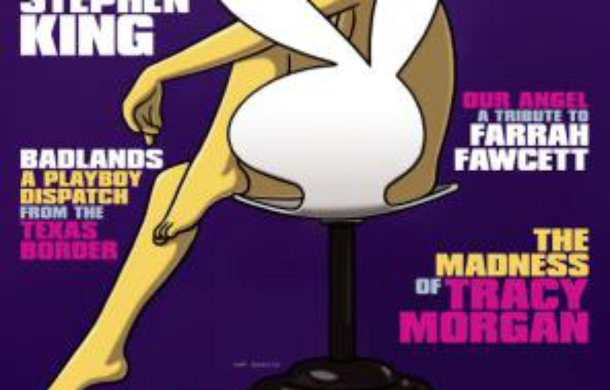 Marge Simpson, en couverture du magazine «Playboy» de novembre 2009 – Playboy/DR
