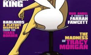 Marge Simpson, en couverture du magazine «Playboy» de novembre 2009