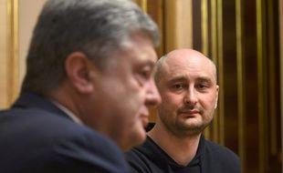 Arkadi Babtchenko s'est retrouvé au coeur d'une opération orchestrée par les services de renseignement ukrainien.