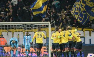 Sochaux a sorti Marseille de la Coupe de la Ligue le 13 décembre 2016