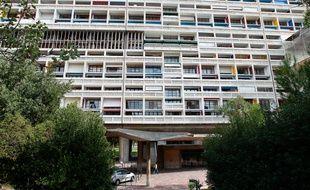 Marseille le 14 octobre 2012 - La cité de Le Corbusier fete ses 60 ans