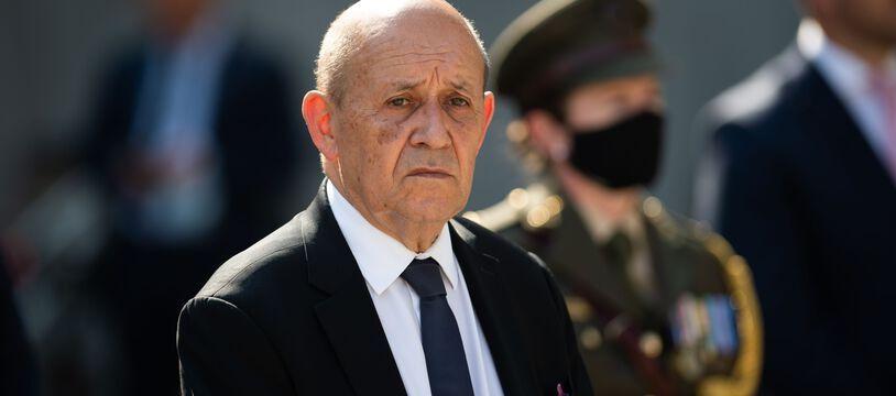 Le ministre des Affaires étrangères, Jean-Yves Le Drian.