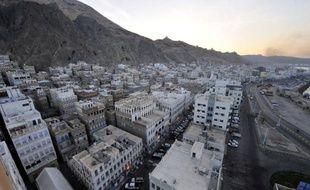 La ville de Moukalla, dans le sud-est du Yémen, le 29 avril 2014
