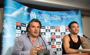 Valbuena a quitté l'OM en août 2014.