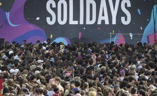 Le festival Solidays en 2019.