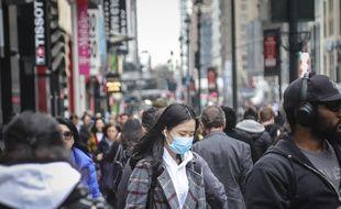 Cinq cas du coronavirus ont été confirmés à New York le 4 mars 2020.