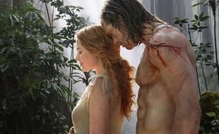 Alexander Skarsgård et Margot Robbie dans Tarzan de Peter Yates