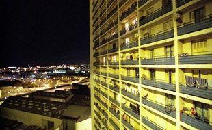 La cité Félix Piat dans les quartiers Nord de Marseille