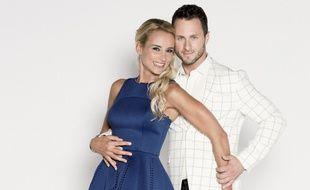 Elodie Gossuin et Christian Millette sont partenaires dans «Danse avec les stars».