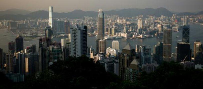 La ville de Hong Kong, en Chine, le 4 août 2015